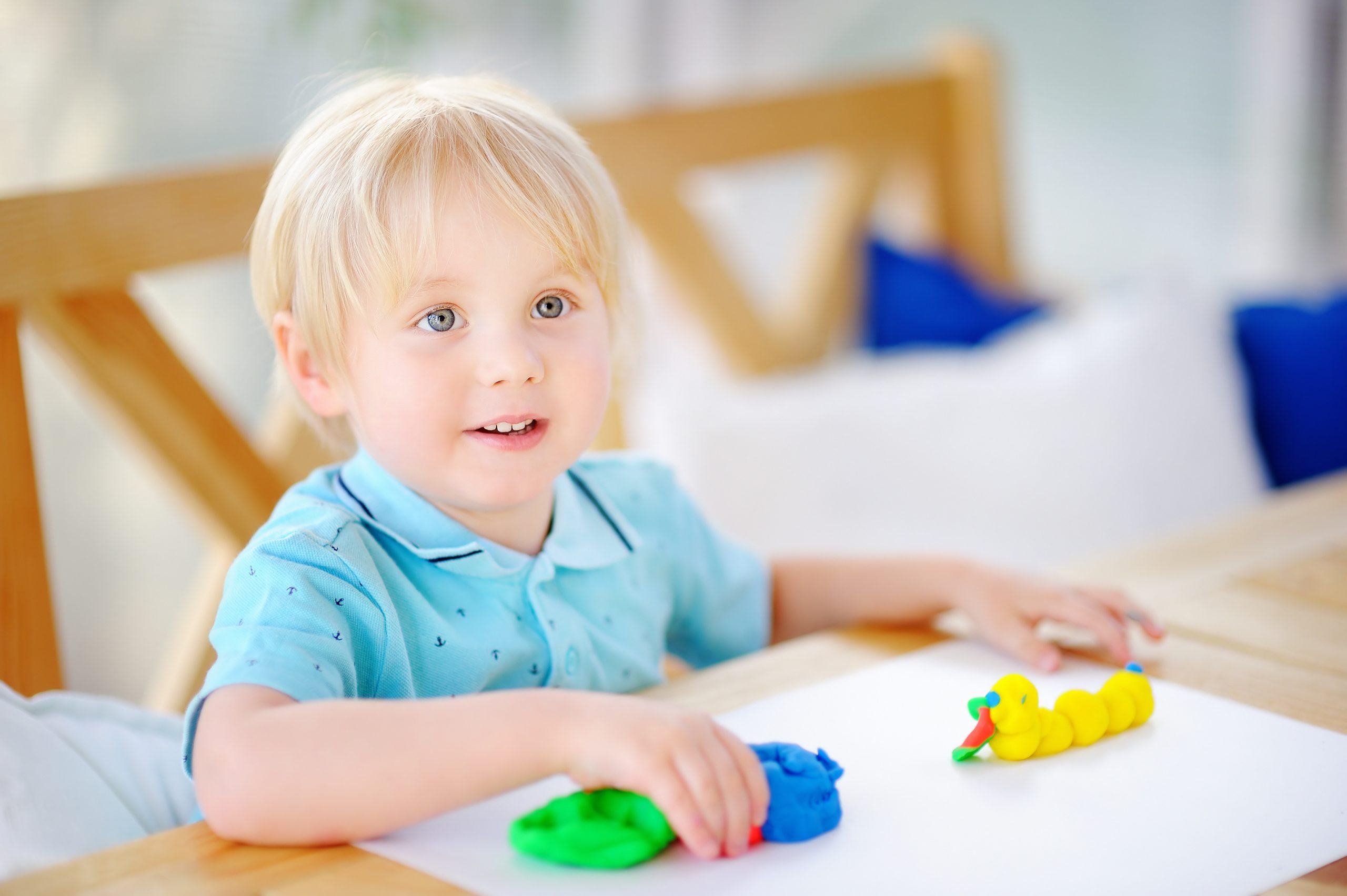 actividades infantiles plastilina