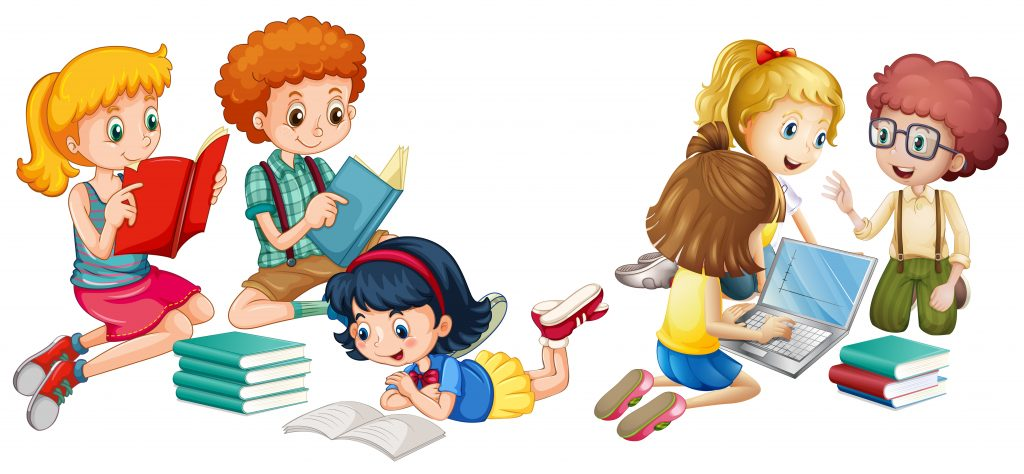 lectura en casa con niños