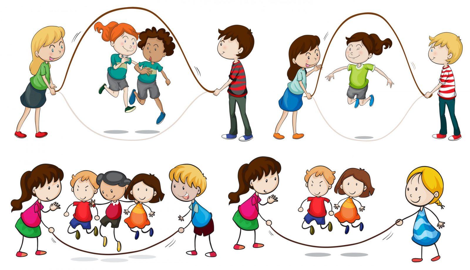 aprendiendo saltar cuerda