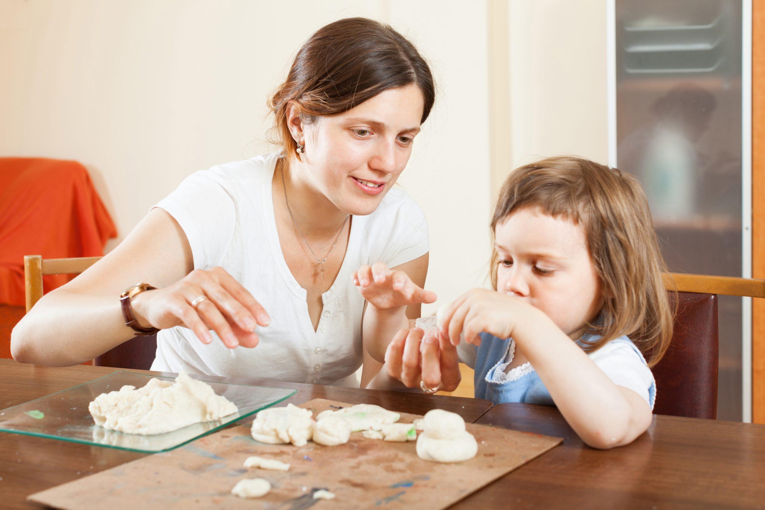 manualidades con pasta de sal
