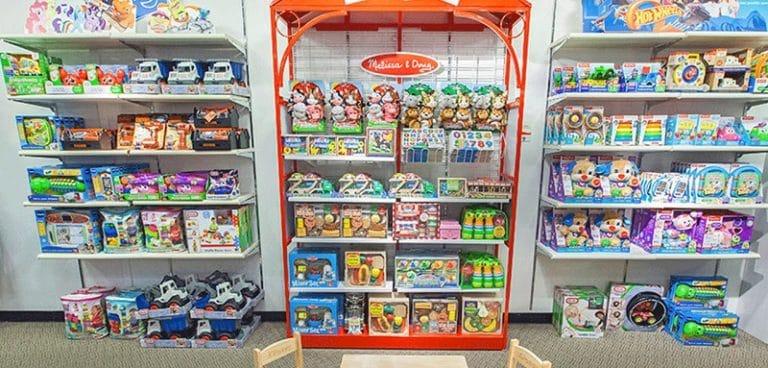 Compra juguetes sin favoritismo