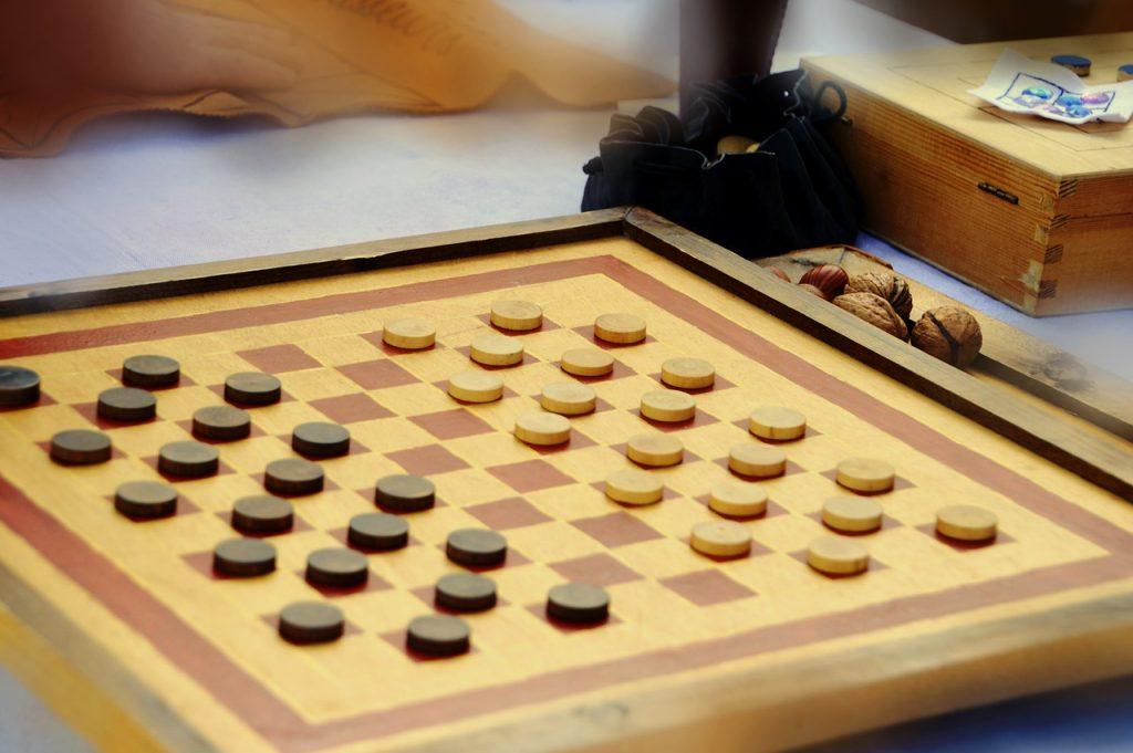 juego de mesa las damas