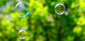 burbujas sin explotar
