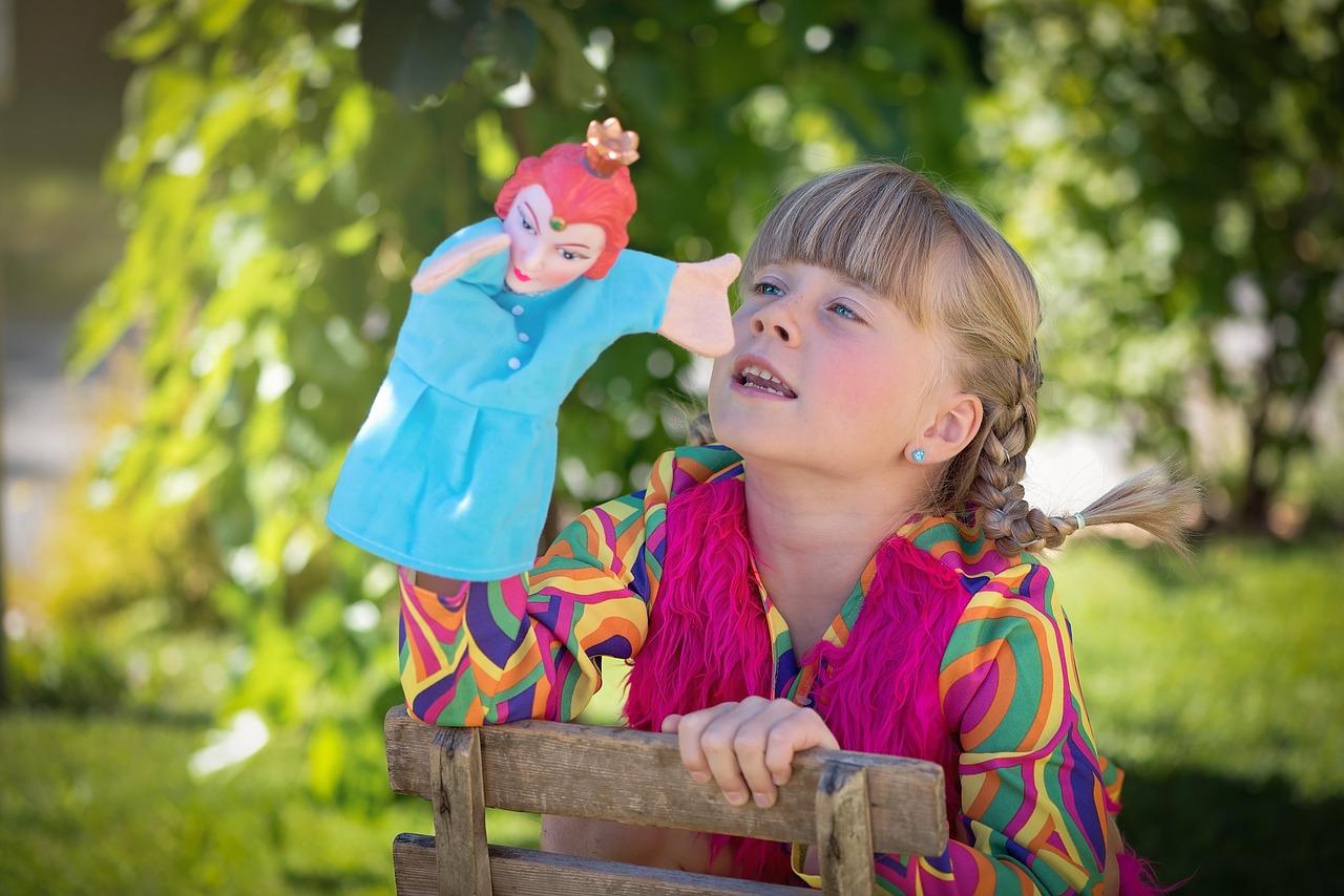 marionetas infantiles