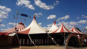 juego de circo para cumpleaños