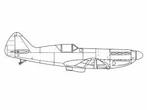 colorear aviones 23