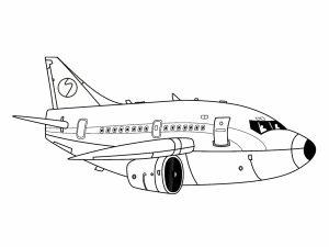 colorear aviones 28