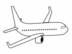 colorear aviones 36