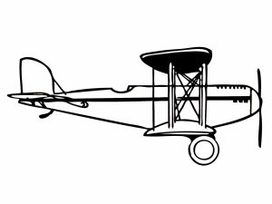 colorear aviones 38