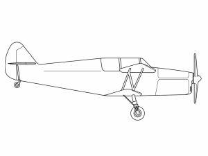 colorear aviones 42