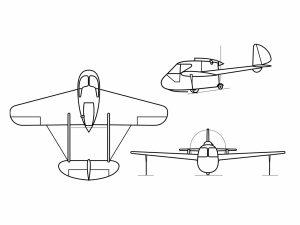 colorear aviones 2