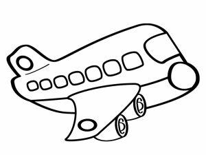 colorear aviones 15