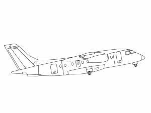 colorear aviones 17