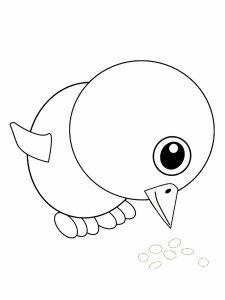 colorear pollitos 25