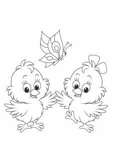 colorear pollitos 28