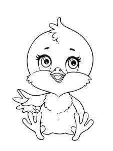 colorear pollitos 2