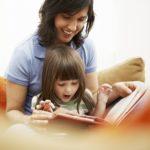 lectura en casa