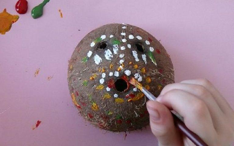 mascara de coco