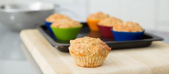 receta muffins salmon para niños