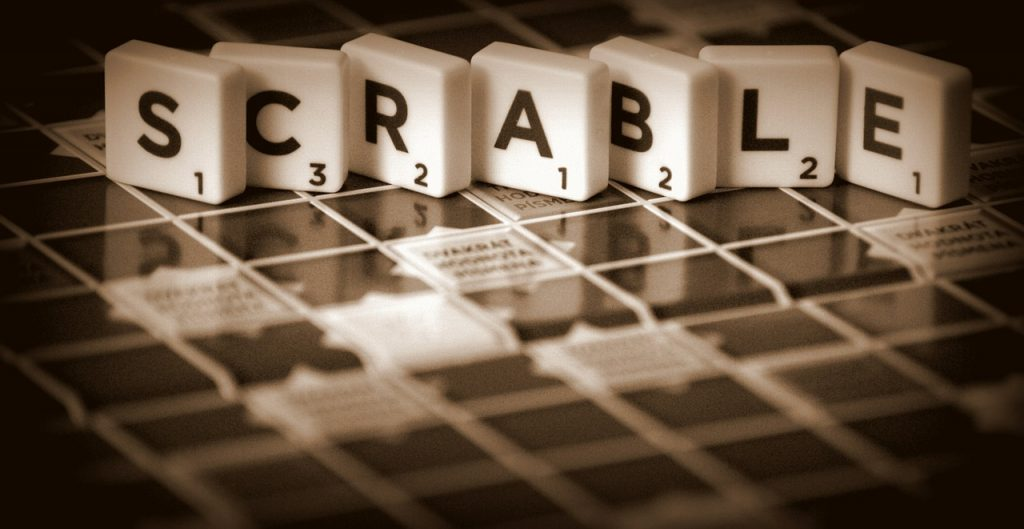 el juego de mesa scrable