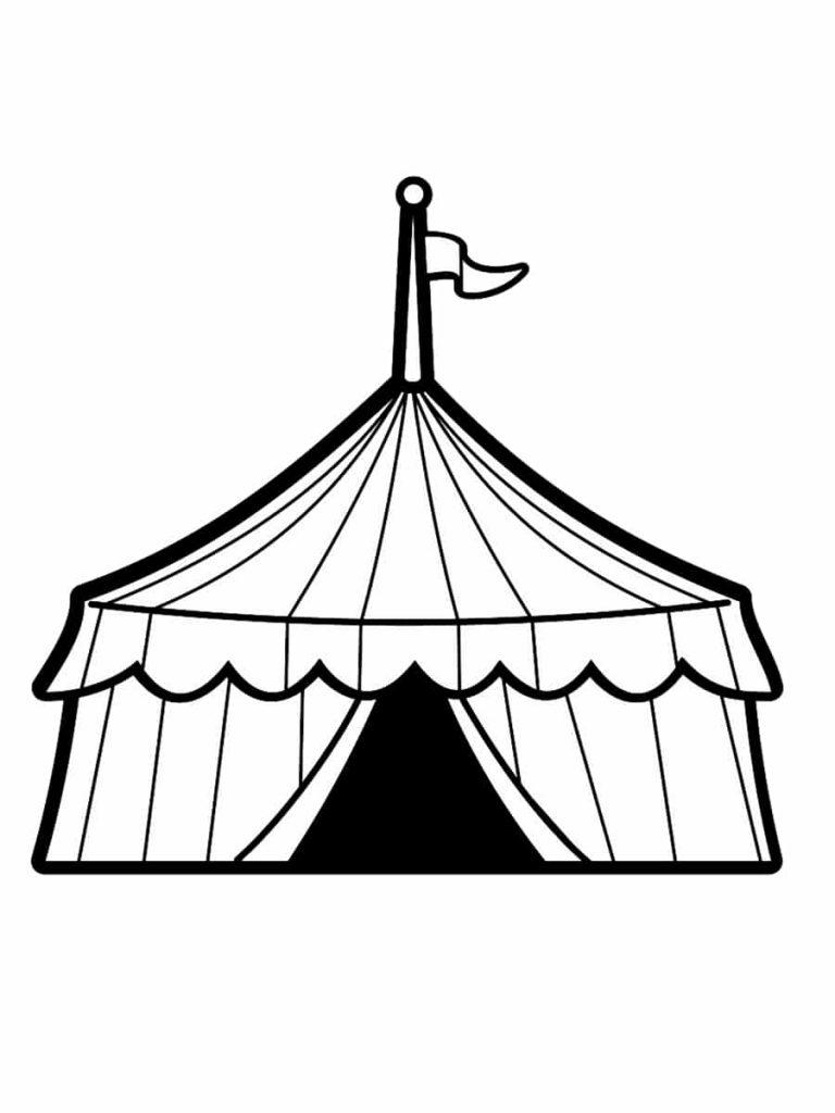 Colorear el circo 9