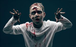 jugando a zombies