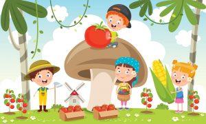 verduras para niños