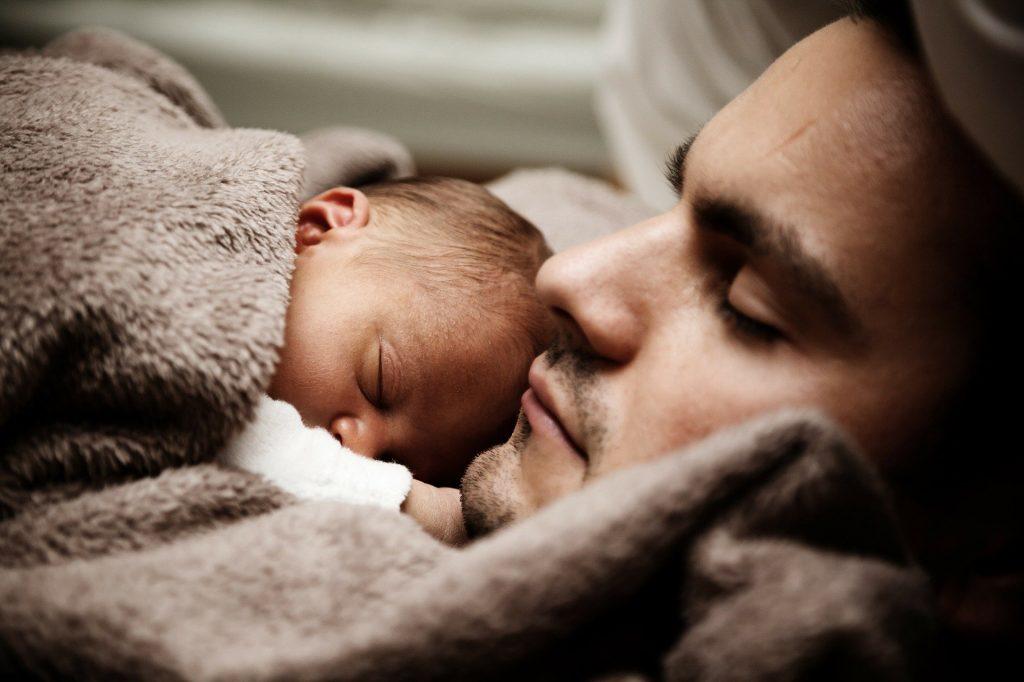 abrazos del padre