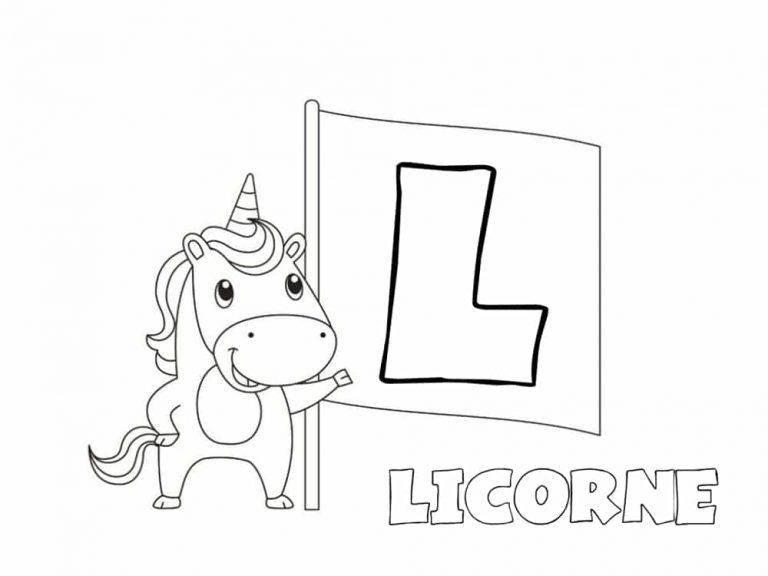Unicornios para colorear: 22 modelos para imprimir 11