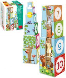 regalo niños 1 año cubos apilables