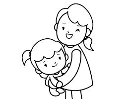 Dibujos para colorear por el día de la madre 2