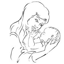 Dibujos para colorear por el día de la madre 13