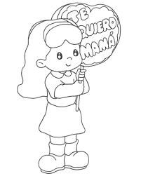Dibujos para colorear por el día de la madre 18