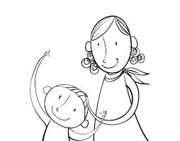 Dibujos para colorear por el día de la madre 19