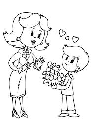 Dibujos para colorear por el día de la madre 21
