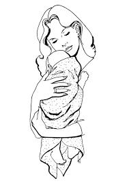 Dibujos para colorear por el día de la madre 3