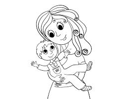 Dibujos para colorear por el día de la madre 23
