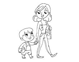 Dibujos para colorear por el día de la madre 24