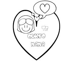 Dibujos para colorear por el día de la madre 25