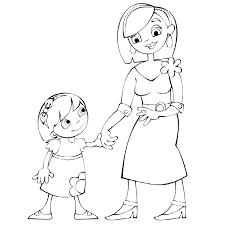 Dibujos para colorear por el día de la madre 26