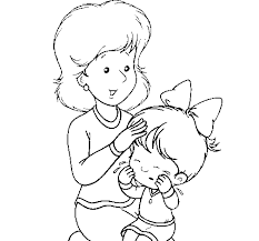 Dibujos para colorear por el día de la madre 27