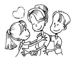 Dibujos para colorear por el día de la madre 6