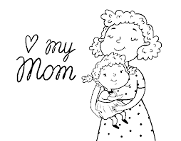 Dibujos para colorear por el día de la madre 28