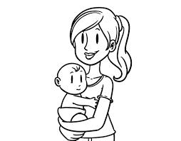 Dibujos para colorear por el día de la madre 29