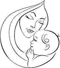Dibujos para colorear por el día de la madre 32