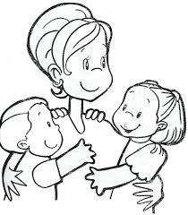 Dibujos para colorear por el día de la madre 9