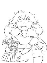 Dibujos para colorear por el día de la madre 10