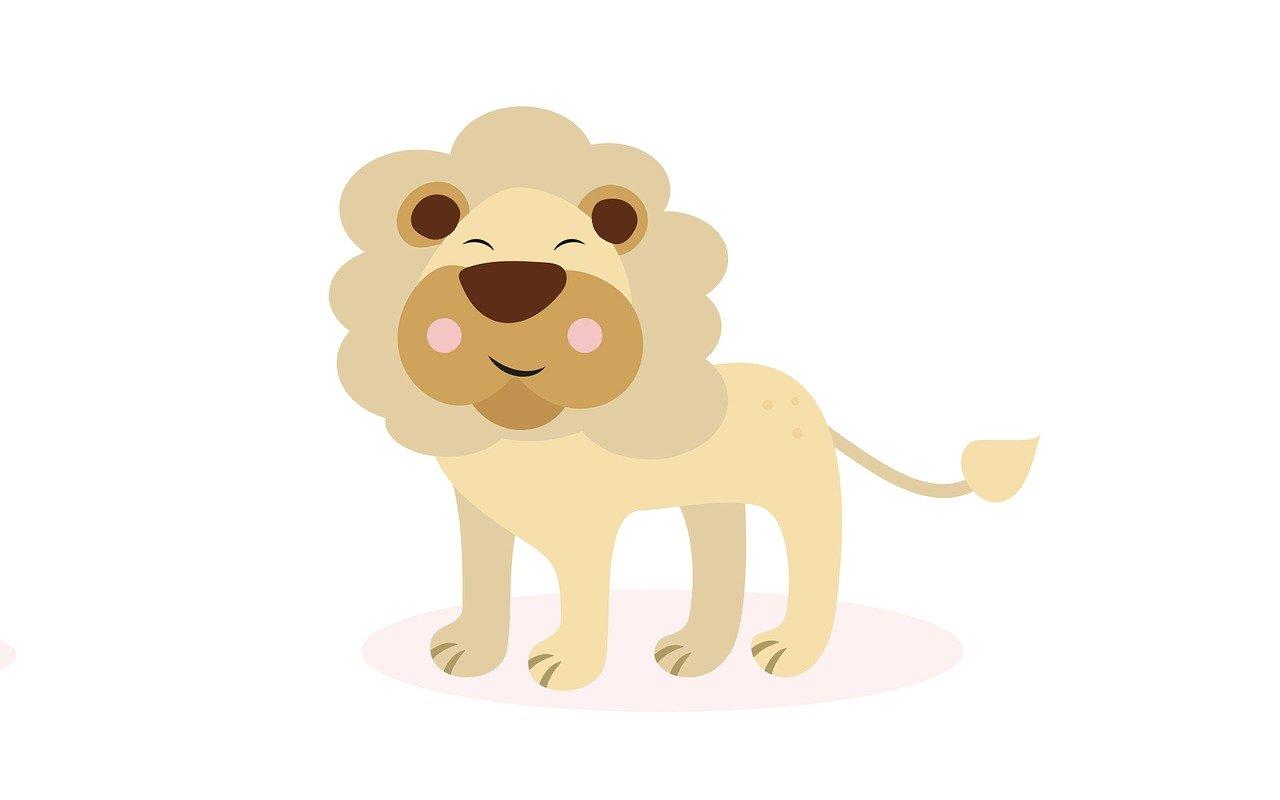 leones para colorear