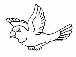 Pájaros para colorear 8