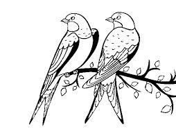 Pájaros para colorear 22